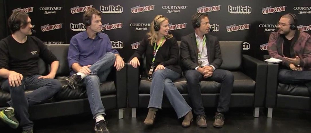 NYCC interview with Kevin Conroy, Susan Eisenberg, and George Newbern
