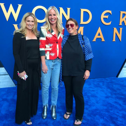 Wonder Woman Premiere with Diane Nelson (head of DC Entertainment) and Christie Marston (granddaughter of WW creator)