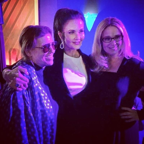 Wonder Woman Premiere with Linda Carter (TV's Wonder Woman) and Christie Marston (granddaughter of WW's creator)