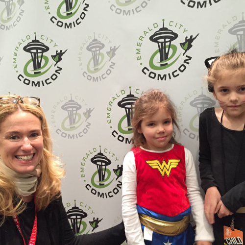 The most adorable fans at Emerald City ComiCon!