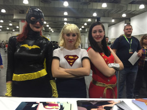 The Trinity at Emerald City ComiCon 2015
