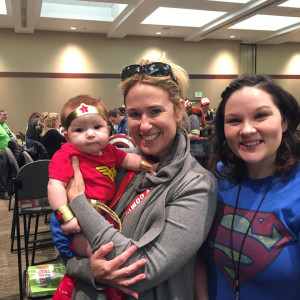 Wonder Baby at Emerald City ComiCon 2015
