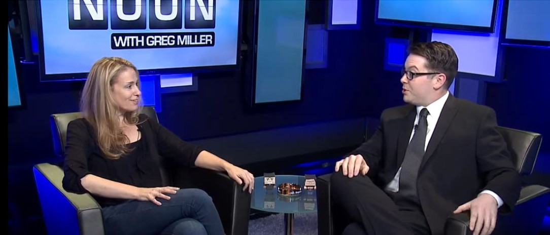 Up at Noon with Greg Miller - Video Interview with Susan Eisenberg