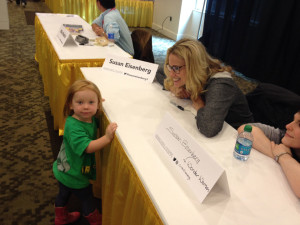 Cutest Little Fan at GeekGirlCon