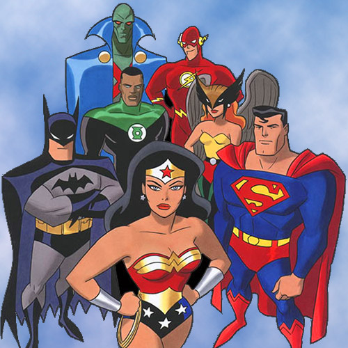 Justice League: The Animated Series - Voice Over Credits for Susan Eisenberg