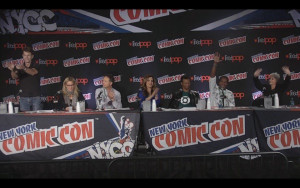 Justice League Reunion Panel at NYCC 2015