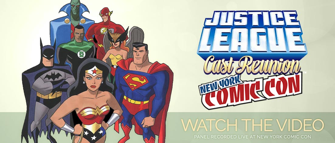 Watch the Justice League Cast Reunion from NYCC 2015