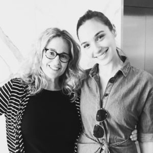 When Wonder Woman met Wonder Woman! - Susan Eisenberg and Gal Gadot