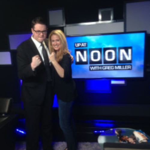 "Susan with Greg Miller on IGN's ""Up At Noon"""