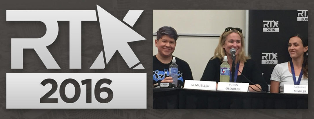 RTX 2016 with Susan Eisenberg