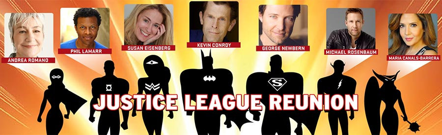 Denver Comic Con JLU Cast