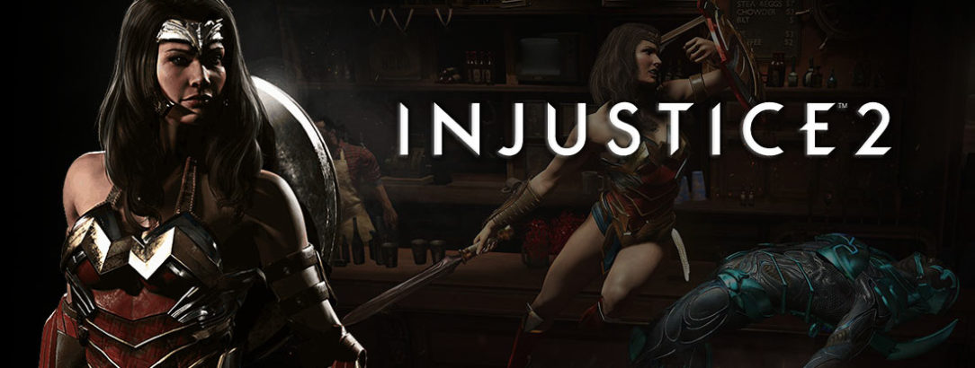Injustice 2 - Wonder Woman voiced by Susan Eisenberg