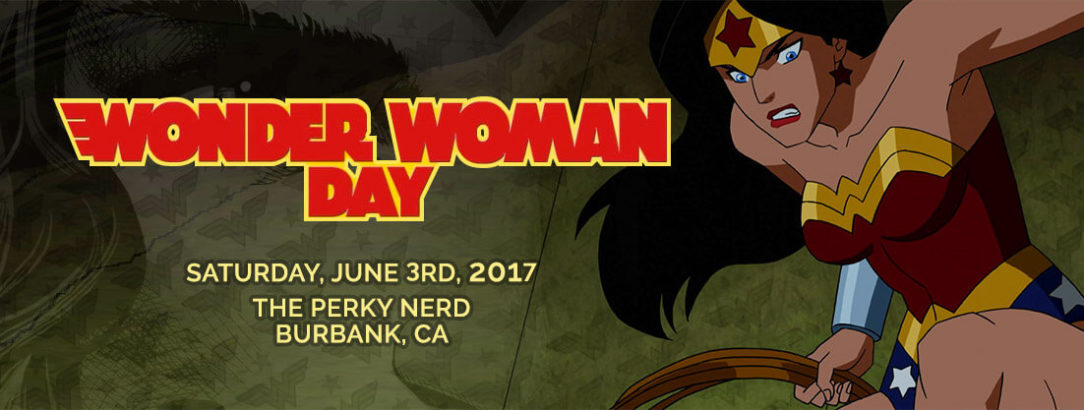 Wonder Woman Day at The Perky Nerd