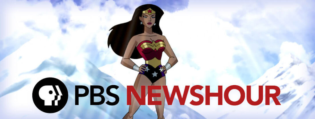 PBS Newshour article - The longtime voice of Wonder Woman speaks