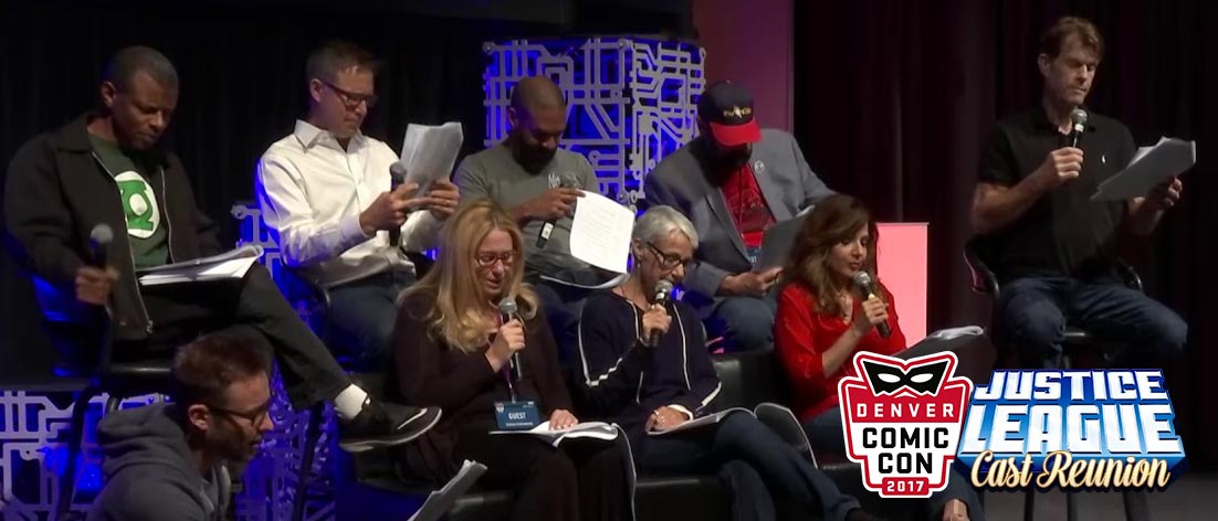 Denver Comic Con Justice League Cast Reunion