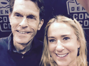 Kevin Conroy and Susan Eisenberg