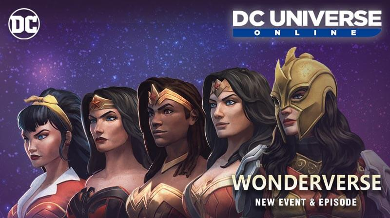 DC Universe Online Wonderverse Event and Episode