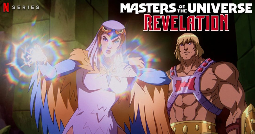 Masters of the Universe: Revelation — featuring Susan Eisenberg as Sorceress —debuts on Netflix July 23, 2021